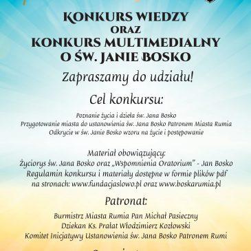 Kolejny Konkurs o św. Janie Bosko!