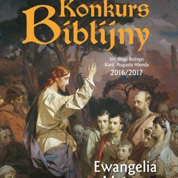 KONKURS BIBLIJNY: Wyniki Konkursu Biblijnego im. Sł. Bożego kard. Augusta Hlonda w Rumi – 2016/2017
