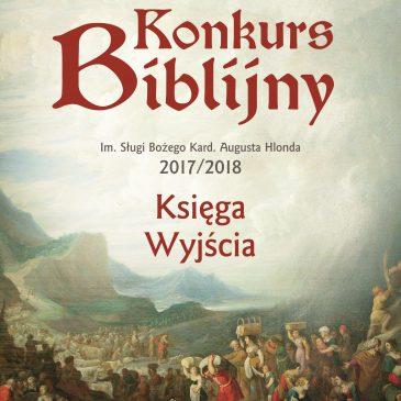 KONKURS BIBLIJNY: Wyniki dla Warszawy 2017/2018