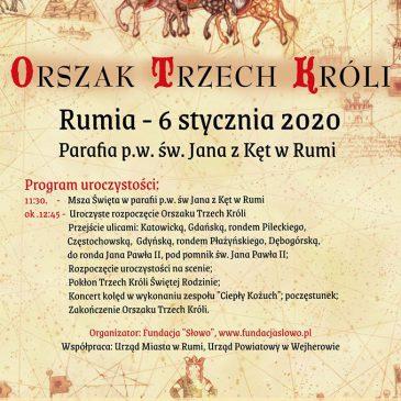 ORSZAK TRZECH KRÓLI: Zaproszenie do udziału w roku 2020