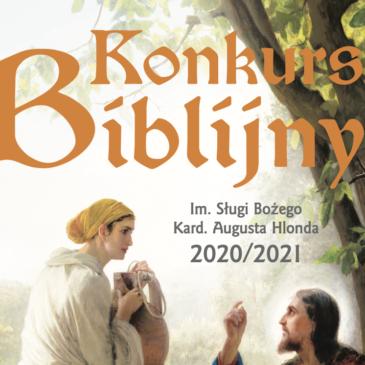 KONKURS BIBLIJNY: Regulaminy w roku szkolnym 2020/21 – województwo pomorskie